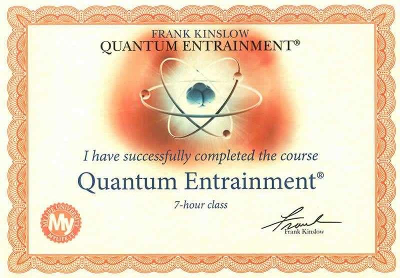 Quantum Entraiment
