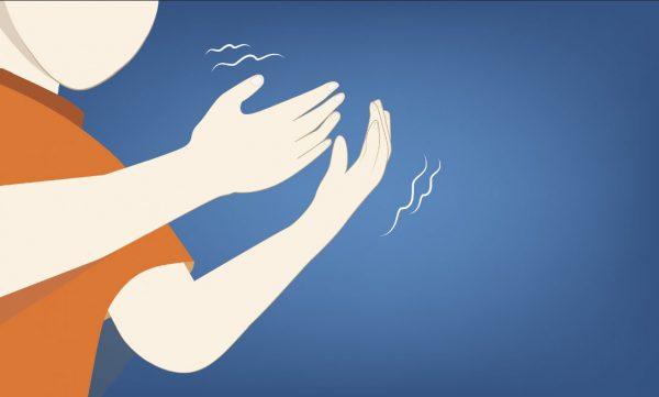 Parkinson alle braccia